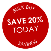 Bulk Buy Save 20% Today