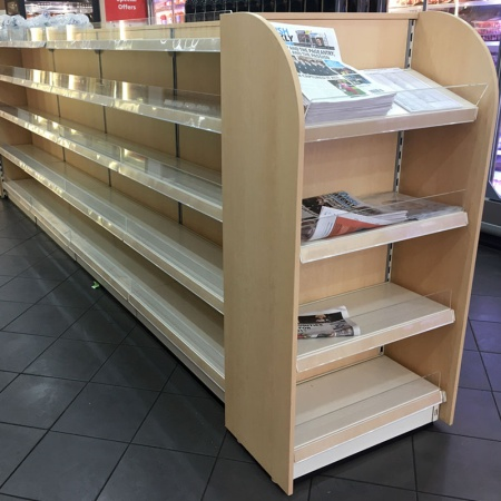 New shop shelving in Canandian Maple