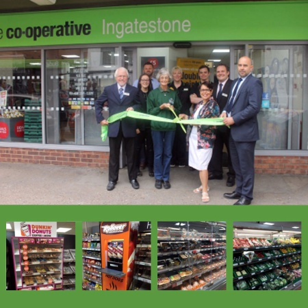 New shelving for Co-op in Ingatestone