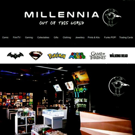 New Showcase Cabinets for Millennia Direct