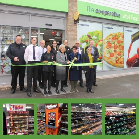 Our Shopfitters refit the Co-op in Shoeburyness
