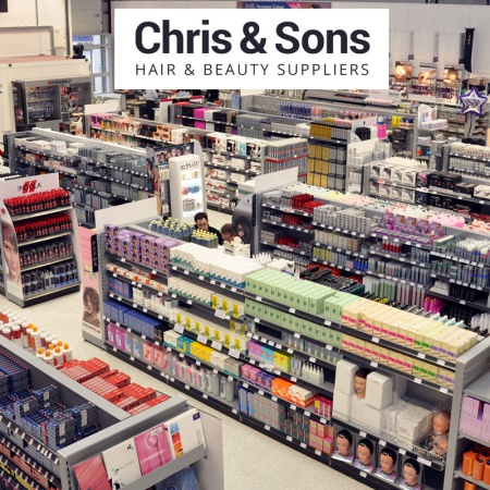 Chris & Sons order more retail Shelving