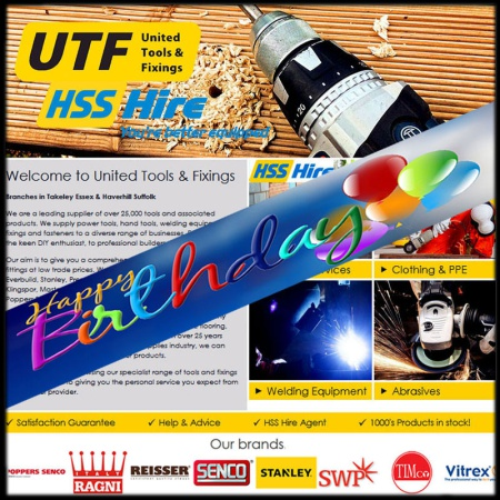 UTF celebrating 10 years of business