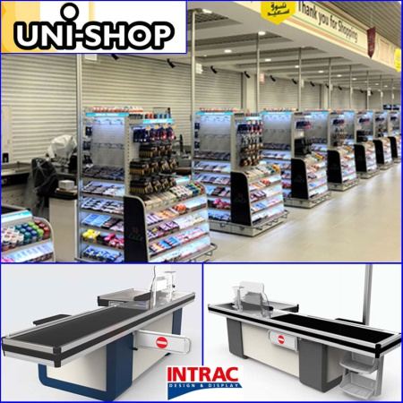 New check out counters for Kosher Supermarket