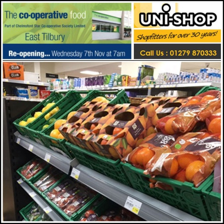 New refresh for Tilbury Co-op