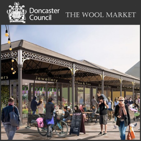 Revamp for Historic Wool Market