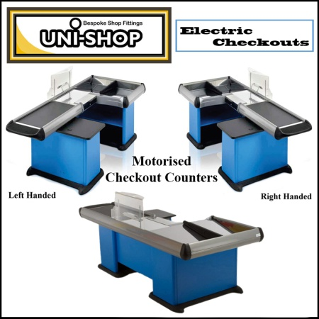 Electric Shop Checkout Counters