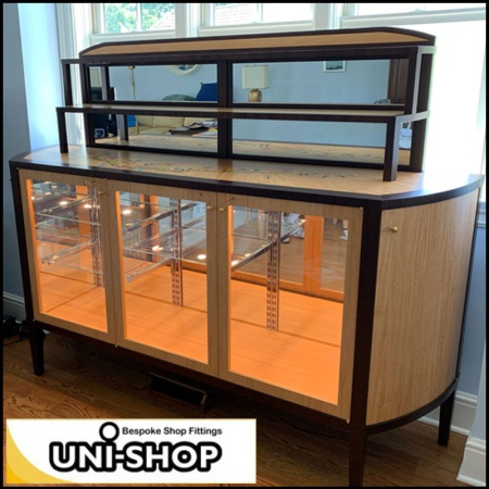 USA Bespoke Display Cabinet