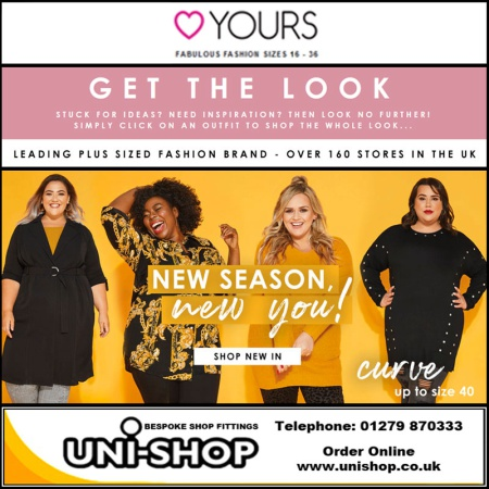 Uni-Shop Supplies Yours Clothing