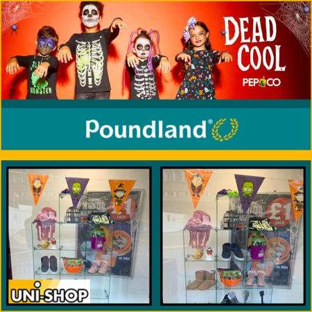 Glass Display Cubes For Poundland