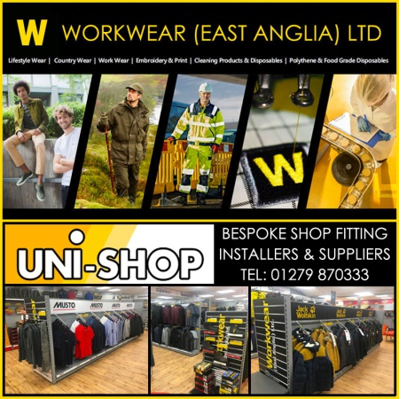 New Showroom For Workwear East Anglia