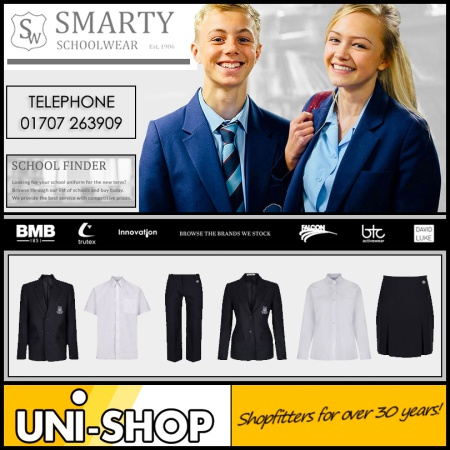 2nd Store For Smarty Schoolwear