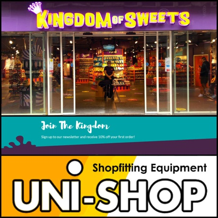 New Amsterdam Shop For Kingdom Of Sweets