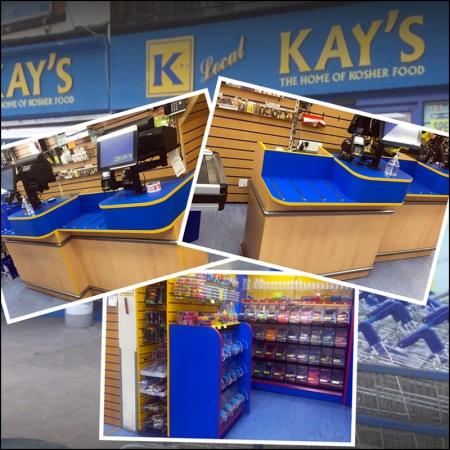 Refit For Kay's Local - Kosher Supermarket