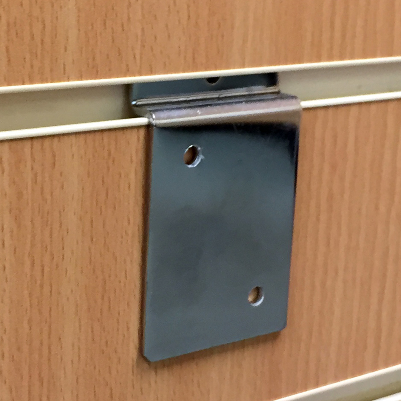 Uni-Shop Shop Fittings - Slatwall Hanging Cabinet Bracket