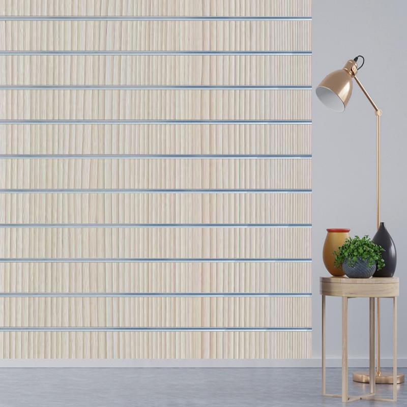 bf38a2eb8d3 Uni-Shop Shop Fittings - Pino Beige Slatwall Panels