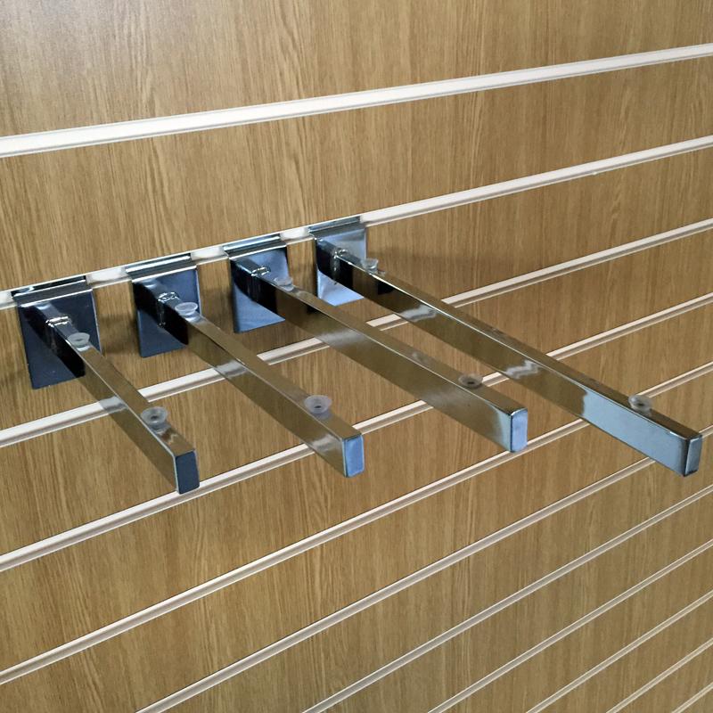 slatwall glass shelf brackets assorted sizes