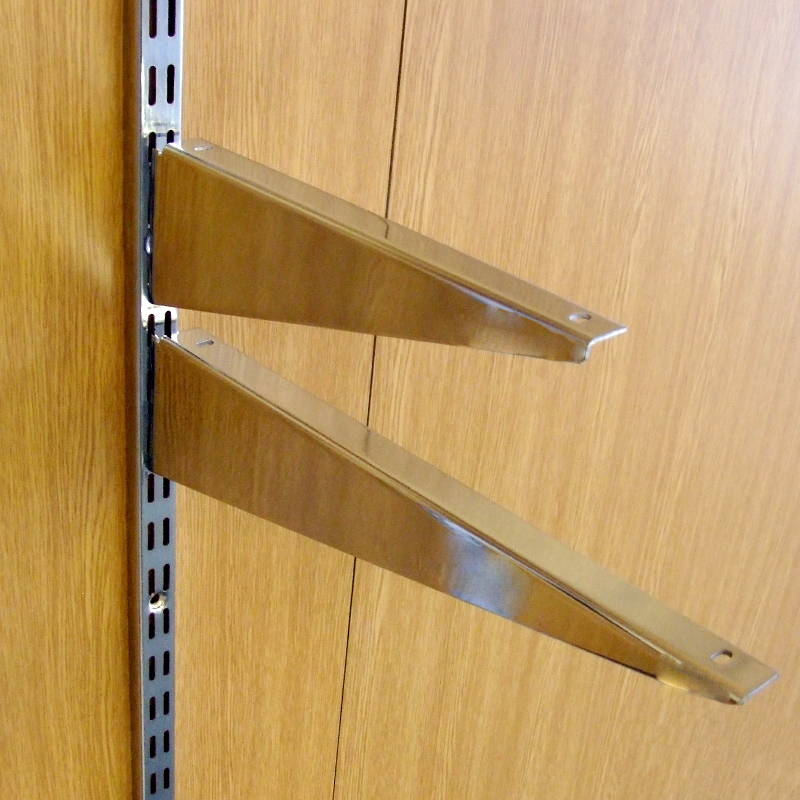 Twin slot brackets