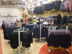 Garment Rails for Dickies UK, Clarks Village, Somerset