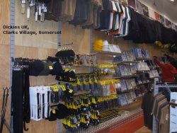 Twin Slot in Dickies UK, Clarks Village, Somerset