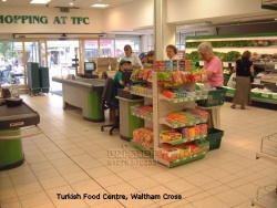 Gondola and Retail Checkout for Turkish Food Centre, Waltham Cross