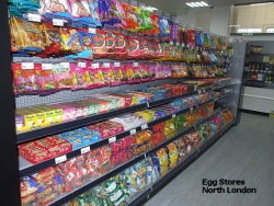 Peg Wall Bays for Egg Stores, North London