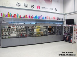 Product Display Cabinets in Chris