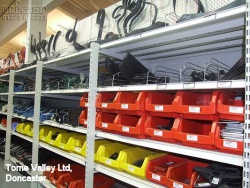 Peg Wall Bays and Racking in Torne Valley Ltd, Doncaster