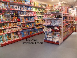 Peg Shelving Bays at Toy Zone, Braintree, Essex