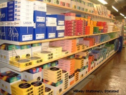 Large Shelving for Millway Stationary, Stansted