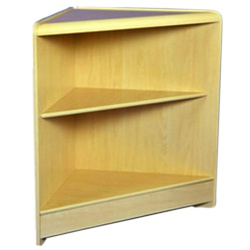 Open Corner Retail Display Unit (Assorted Colours)