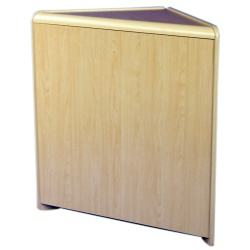 Solid Corner Retail Counter (Assorted Colours)