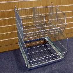Retail Wire Stacking Baskets (580MM Wide)