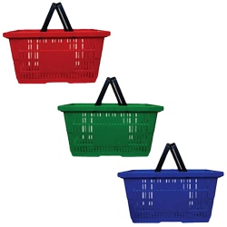 Plastic Shopping Baskets (21L Or 28L)