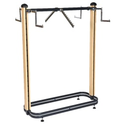 Cladded Twin Slot Twin Post Clothing Rail (1003MM)