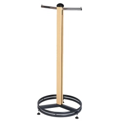 Cladded Twin Slot Single Clothes Stand (1.4M)