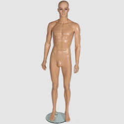 Male Shop Mannequin Flesh Tone & Make-Up