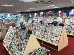 Slatwalls, Slatwall fittings and Greeting Card Displays for Emotions Greeting Cards Maidstone