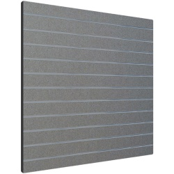 Silver Slatwall Panels UK