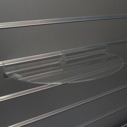 Slatwall Curved Display Shelf