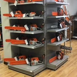 Ernest Doe Retail Shelving