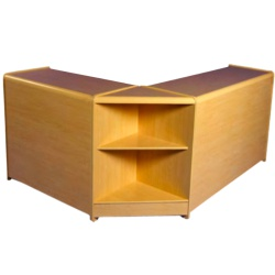 Shop Counters Combination Kit (3 Piece - Wood Shelves)