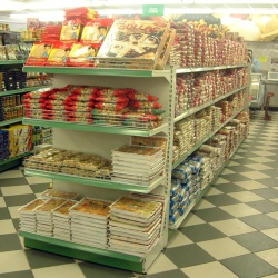 Bakery Retail Shelving