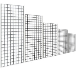 Gridwall Panels Shop Fittings (Assorted Sizes)
