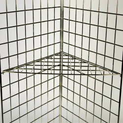 Gridwall Triangular Shelf