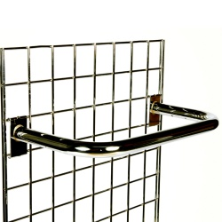 Gridwall Garment Rail Shop Fitting