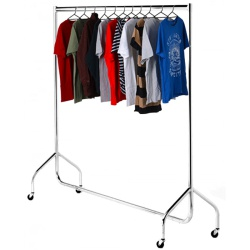 Garment Rail Chrome (Assorted Sizes)