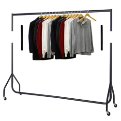 Garment Rail Extension Kit (Matt Black)