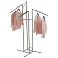 Adjustable 4 Arm Waterfall Clothing Rail