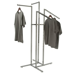 Adjustable 4 Arm Clothing Rail (Mixed Arms)